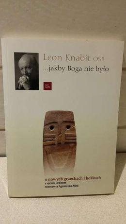 Książka Jakby Boga nie Było, Leon Knabit OSB