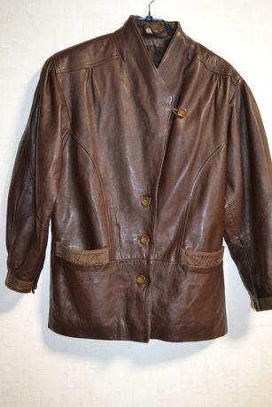 Кожаная куртка, пиджак размер С-М