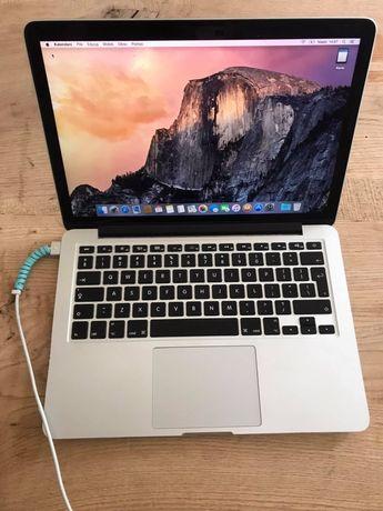 """MacBook Pro 13"""" RETINA 2,6 GHz i5, 8 GB, 256GB mid2014"""