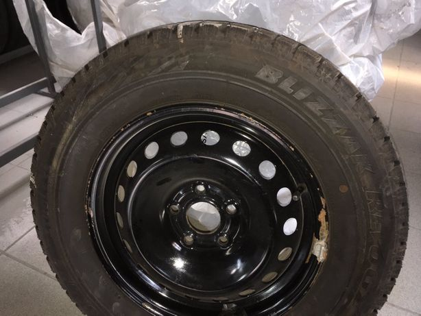 Bridgestone blizzak GZ 205/65 R15 + диски