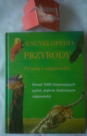 """książka """"encyklopedia przyrody pytania i odpowiedzi"""""""