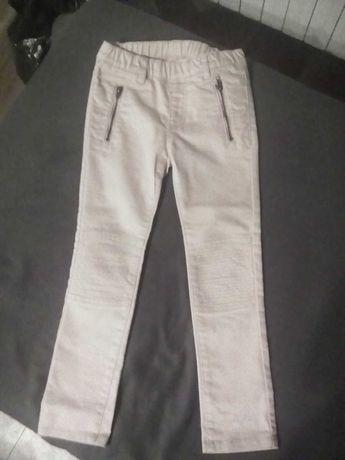 spodnie hm na gumie z kieszeniami