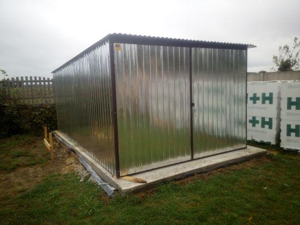Garaże blaszane, blaszaki PRODUCENT domek ogrodowy Batorz schowki