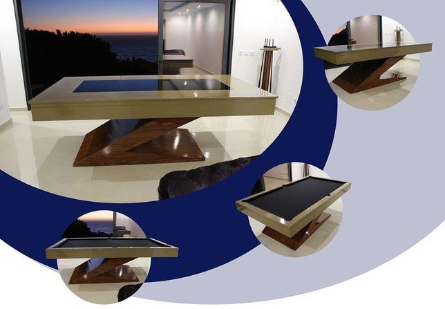 Bilhares europa fabricante mod Zen Luxury oferta tampo de jantar