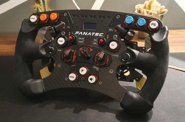 Fanatec CSL Elite e Fanatec Formula v2 com Podium Shifter e Botões