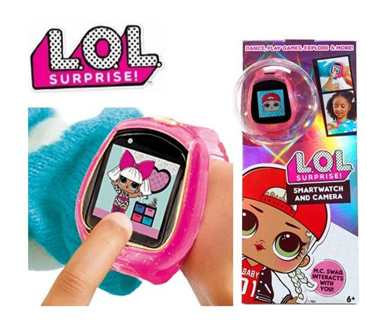 LOL Surprise Smartwatch Camera & Game MGA 571391 ЛОЛ Смарт годинник