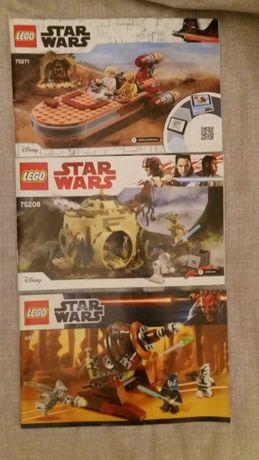 [Только инструкции] Lego Star Wars 75271 75208 9491