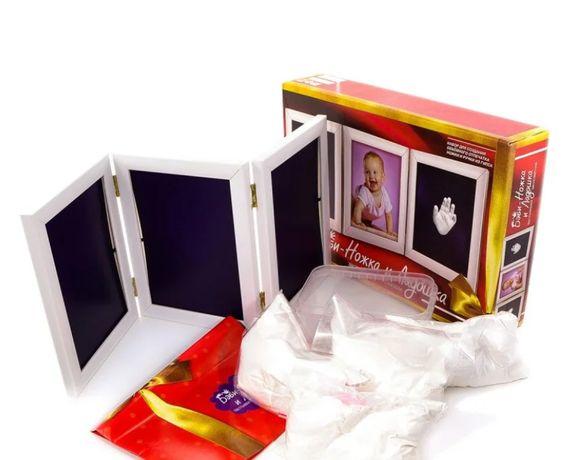 Набір для зліпків ніжок і ручок з гіпсу Danko Toys Набор для слепков н