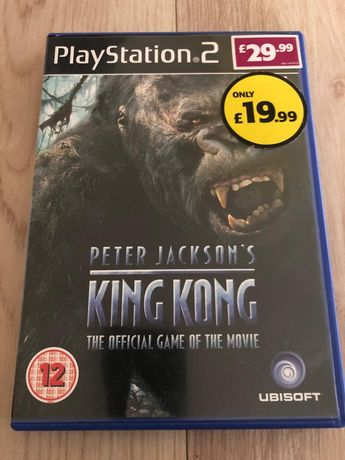 Gra PS2 King Kong stan b.dobry