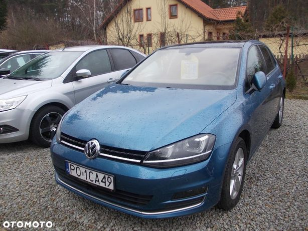 Volkswagen Golf Serwis 80700 km Panorama 4x4 Xenon itd