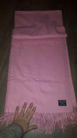 Cachecol/manta cor de rosa