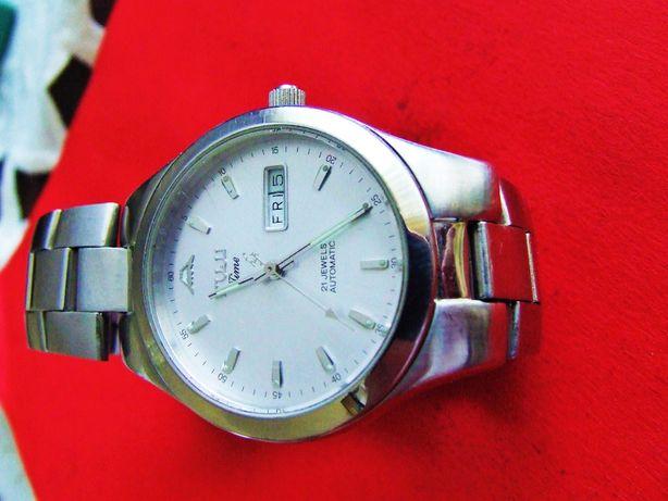 Zegarek naręczny męski mechanicny automat FUJI 21jewels wodostrzelny