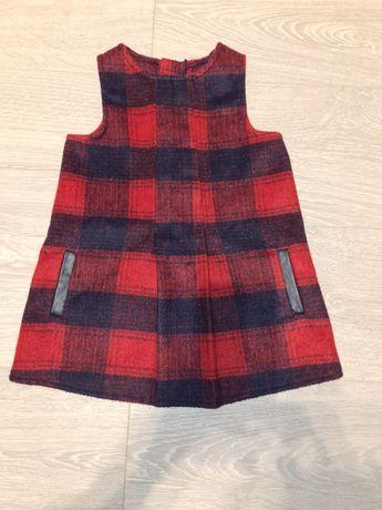 Sukienka świąteczna stan idealnych, rozmiar 86