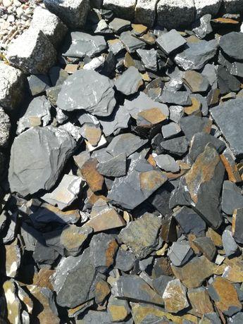 Kora kamienna z łupka, kora antracytowa, fr. od 40-80 mm, NOWOŚĆ