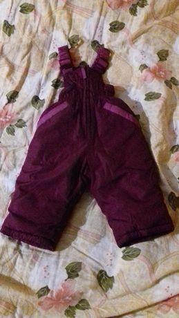 НОВЫЙ!Зимний теплый комбинезон полукомбинезон gloria jeans
