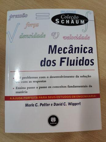 Livro Mecânica dos Fluidos Coleção Schaum Merle Potter David Wiggert