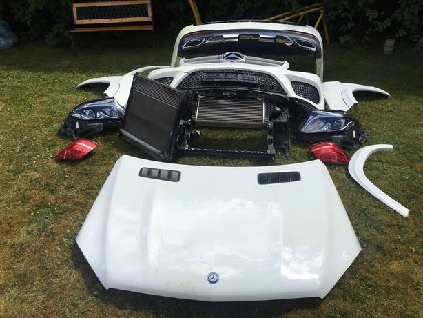 Бампер крыло капот фара Мерседес W166 X166 GL GLS GLE ML Разборка