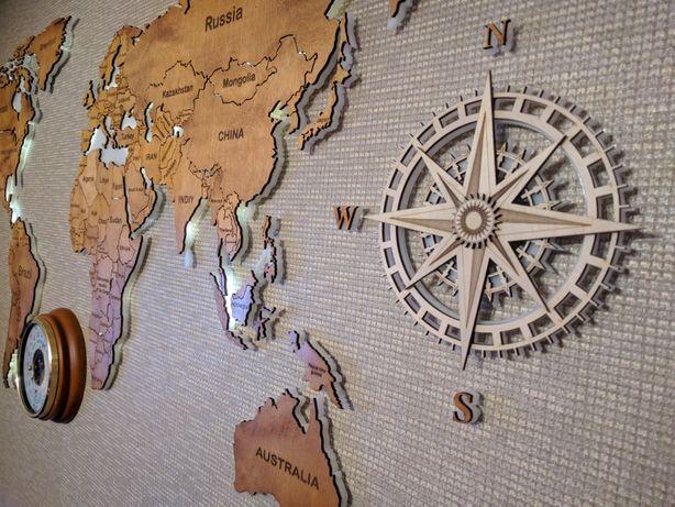 Карта світу на замовлення