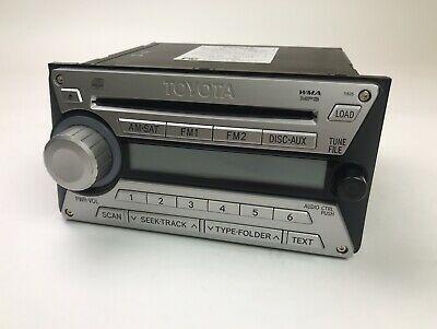 Штатная оригинальная магнитола FJ Cruiser на 6 дисков