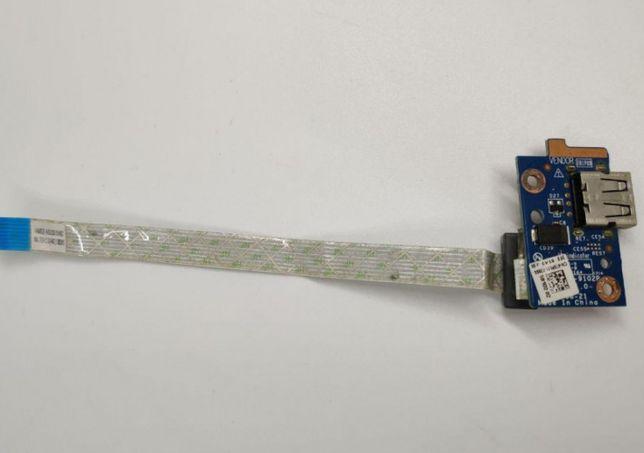 Плата USB Dell Inspiron 15 3521 VAW00 LA-9102P NBX00019N00 CN-075PM1