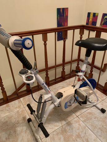 Bicicleta estática e remo Ciclostatic  - Miralado