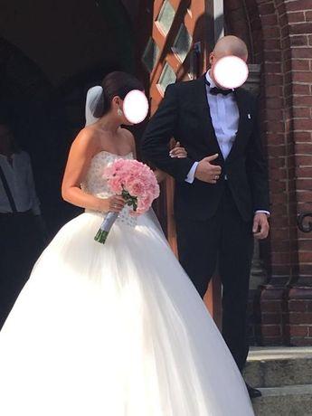 Przepiękna suknia ślubna Madam Burcu rozm. 34