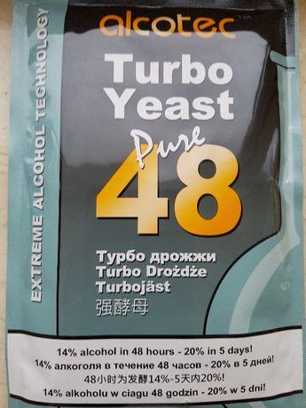 Дріжджі спиртові, дрожжи Alcotec 48 Turbo , 21%. 130г.