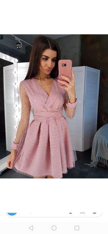 Платье нежное женское