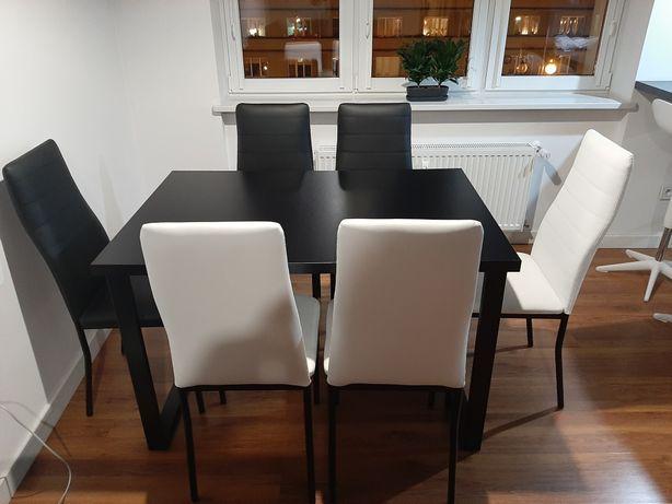 Stół 6 krzeseł podana cena z transportem
