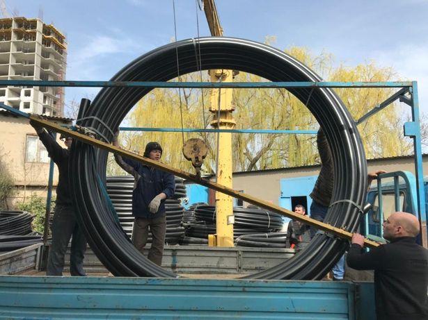Трубы полиэтиленовые ПЭ. Трубы для воды ПЭ-100, ПЭ-80