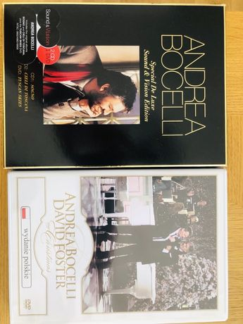 Andrea Bocelli Cd plus Dvd