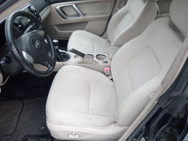 Subaru Legacy IV kombi lift - Fotele przód tył kpl. Boczki EUR.