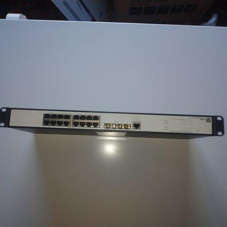 Коммутатор управляемый уровня 3 HP ProCurve Switch V1910-16G (JE005A)