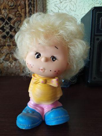 Незнайка, резиновая игрушка СССР