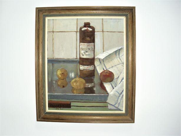 Obraz olejny notowanego malarza skandynawia