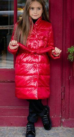 Arin Apparel роскошная новая куртка- пальто 134р Chicco Zara Mayoral