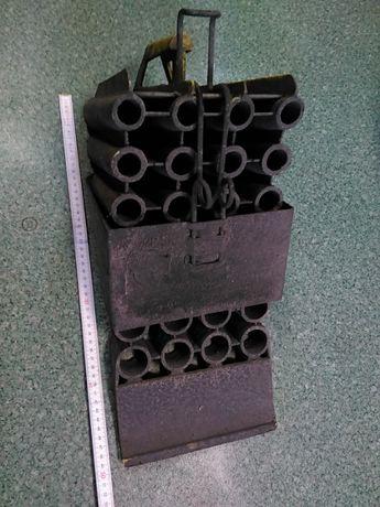 Plastikowy Klin pod koło ciężarówki z uchwytem mocowaniem używany