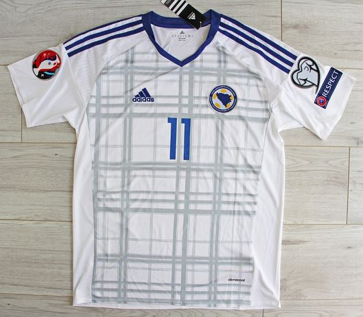 BOŚNIA i HERCEGOWINA koszulka repr. ADIDAS el. EURO 2016 #11 Dżeko, M