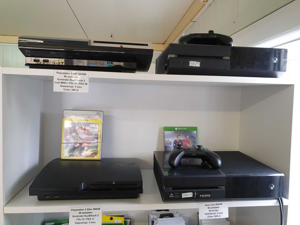 Skup, sprzedaż Gier, Konsol - Playstation 4, Xbox One, Xbox360 Wrocław
