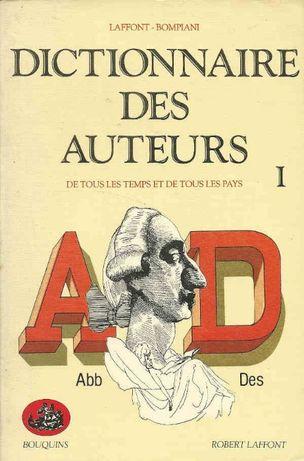 Dictionnaire des auteurs – 4 volumes - Laffont, Bompiani