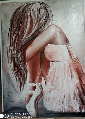 Obraz akrylowy- baletnica