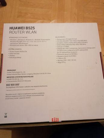 Huawei B525 router wlan
