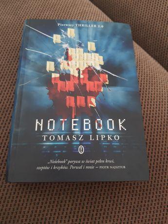 Notebook. Thriller.  Tomasz Lipko