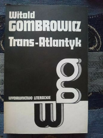 Książka Trans-Atlantyk Witold Gombrowicz