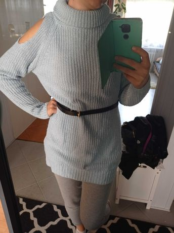 Sweter niebieski rozmiar M/L