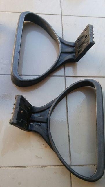 Podlokietniki,oparcia od krzesel obrotowych z tworzywa-wys 15cm