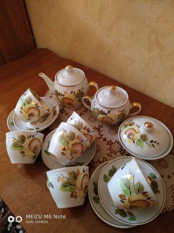 Продам чайный сервиз 80-х годов СССР.