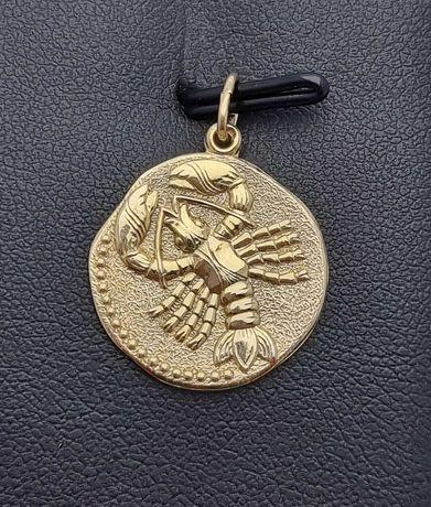Złota zawieszka Znak zodiaku P.333 1,57G