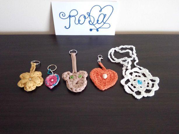 Conjunto de Porta chaves em crochet