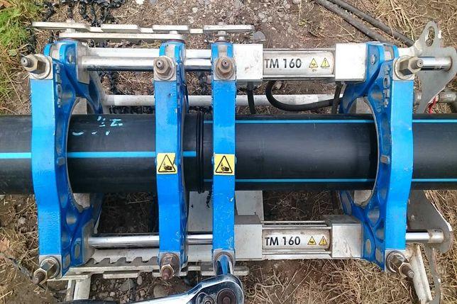 Зварювання поліетиленових труб (терморизисторне і стикове)